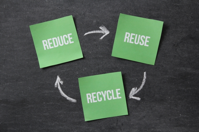 小型家電リサイクル法に従って出す場合
