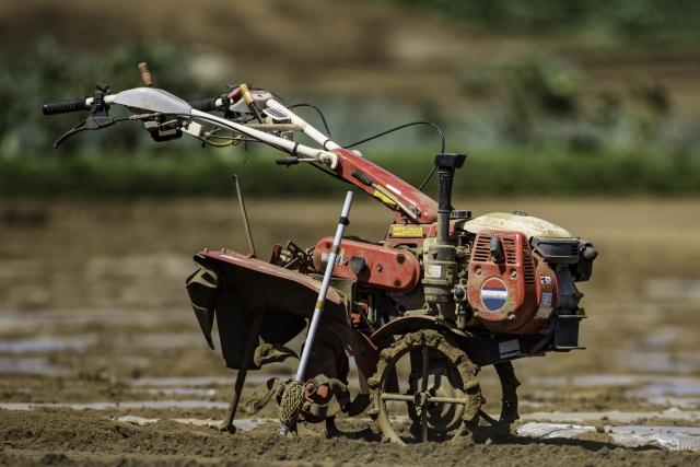 農機具を廃棄する