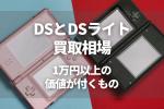 DSとDSライト 買取相場 1万円以上の 価値が付くもの