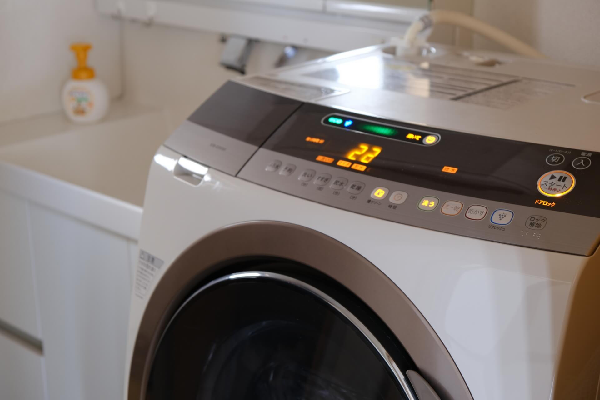 洗濯機が壊れたときの症状